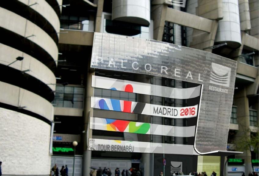 Instalaci n del restaurante palco real en el estadio - Palco santiago bernabeu ...