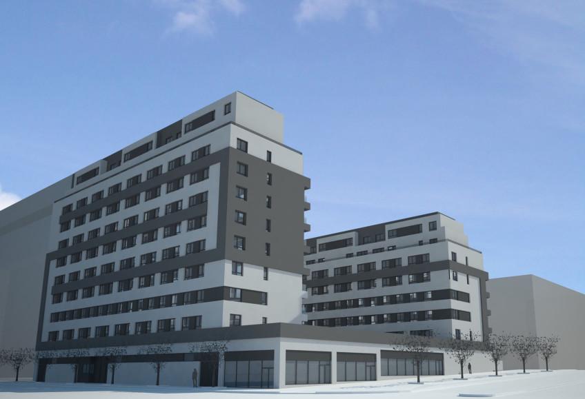 Concurso 96 viviendas en la parcela res 03 131 a 1 - Estudios arquitectura espana ...