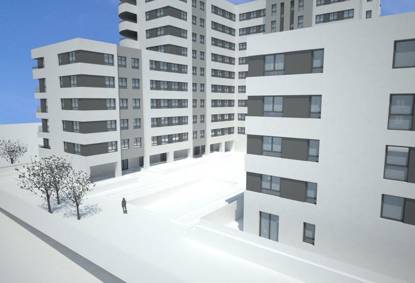 104 viviendas en parque de valdebebas madrid estudio - Estudios arquitectura espana ...