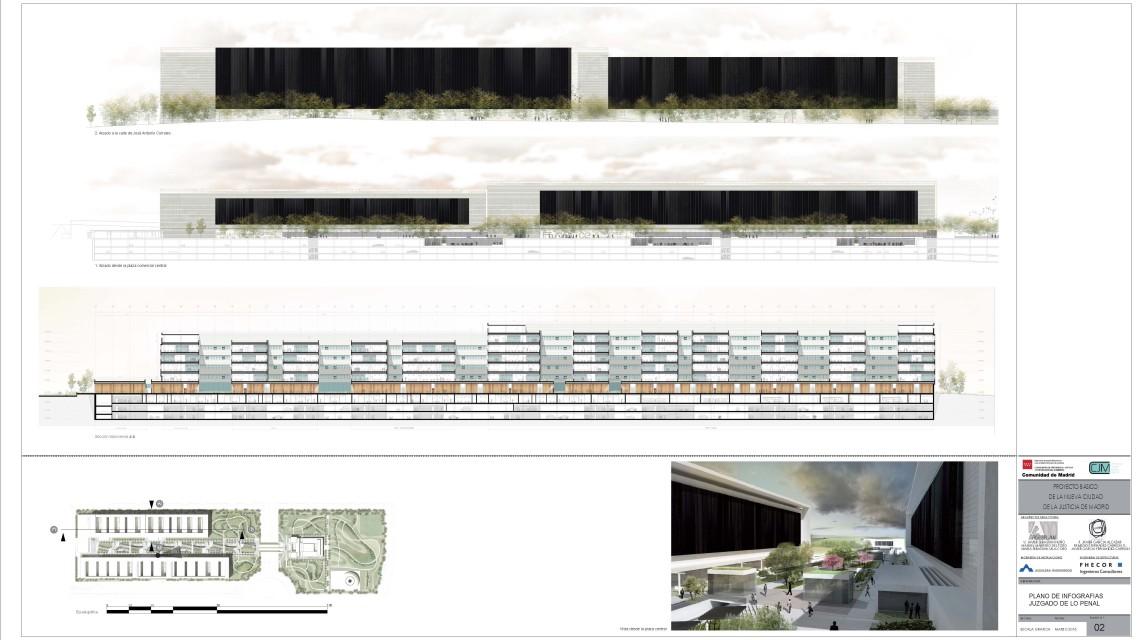 Concurso de la ciudad de la justicia madrid estudio - Estudios arquitectura espana ...